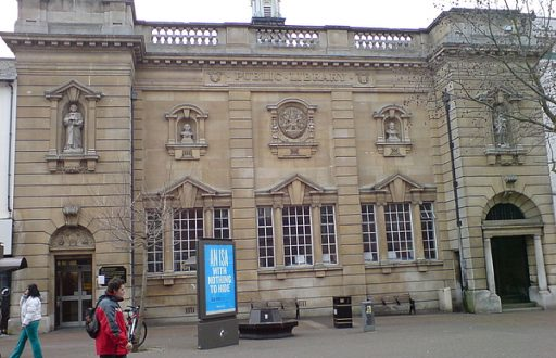 Northamptonshire Central Library - Abington Street, Northampton