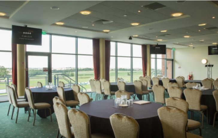 Carlisle Racecourse, conference venue in Carlisle, Cumbria, North West England