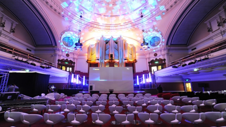 The Great Hall   Central Hall Westminster   Top Westminster Conference Venues   Leading Venues in London   Find a Venue   The Venue Booker   Venue Finding Agency