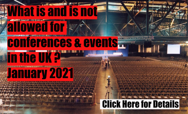 What's next for conferences and events in UK? | Venue booking agency | Free Venue Finding | The Venue Booker