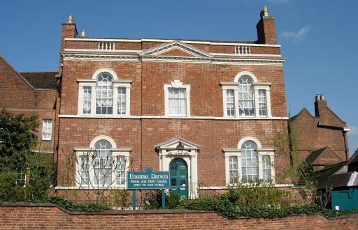 Erasmus Darwin House - Erasmus Darwin House, Beacon Street, Lichfield - 1