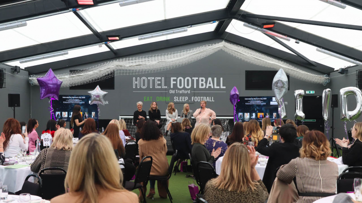 Hotel Football, conference venue with views in Salford Quays, Manchester