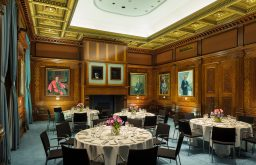 Historic meeting & dining room in central London