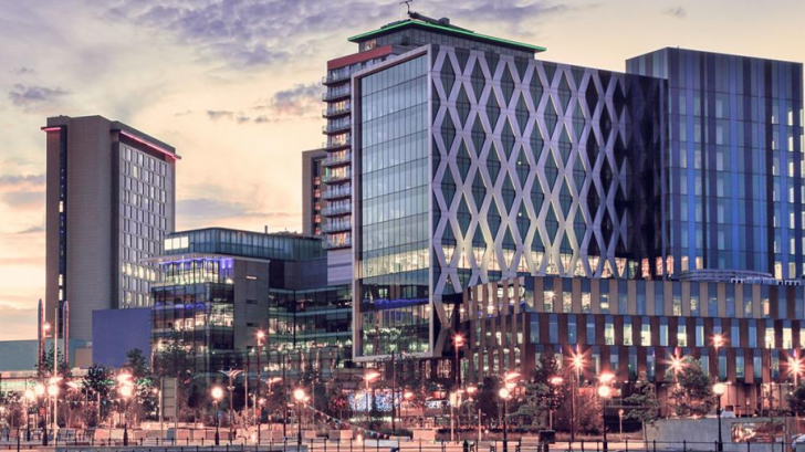 MediaCityUK conference venue in Salford Quays, Manchester