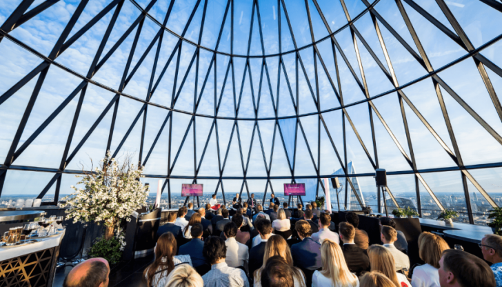 Searcys at the Gherkin   Best London Event Venues with a View   The Venue Booker   Free Venue Finding Service   Venue Finding Agency   Find a Venue