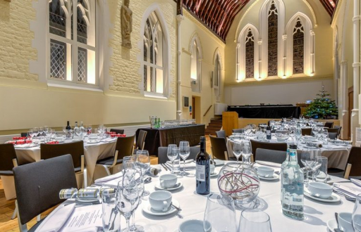 St Lukes Christmas party dinner venue Oxford