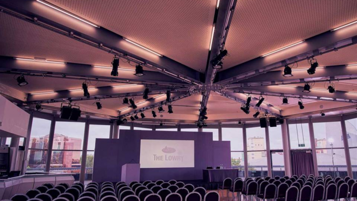 The Lowry, conference venue in Salford Quays, Manchester