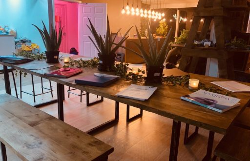 at1.SPACE is a uniquely designed 4500 sq ft Modern Wellbeing SPA