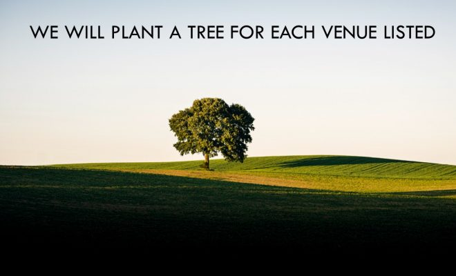 Free Venue Finding Sustainable